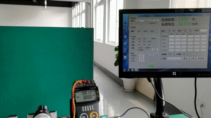 Ultrasonic level meter calibration system